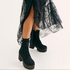 Free People Vegan Harlow Platform Boot